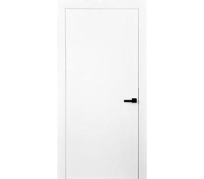 Межкомнатные гладкие двери белого цвета
