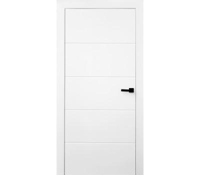 Белые межкомнатные двери горизонталь