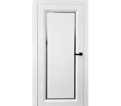 Белые межкомнатные двери прованс со стеклом
