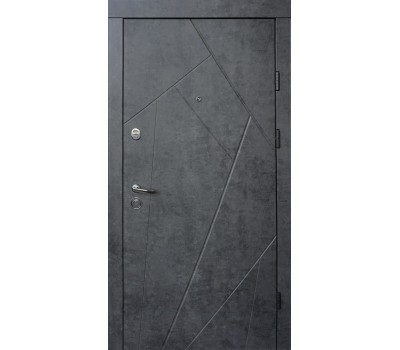 двери флеш ультра в цвете бетон