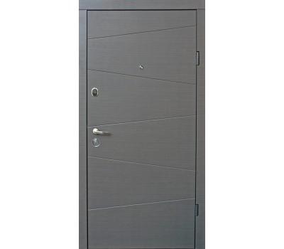Двери нео в цвете венге серый